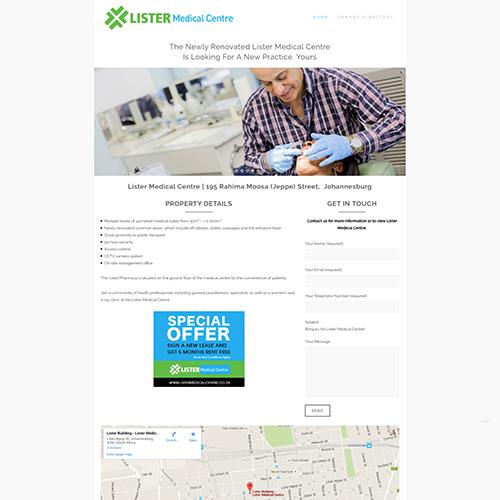 Lister Medical Centre   City Property