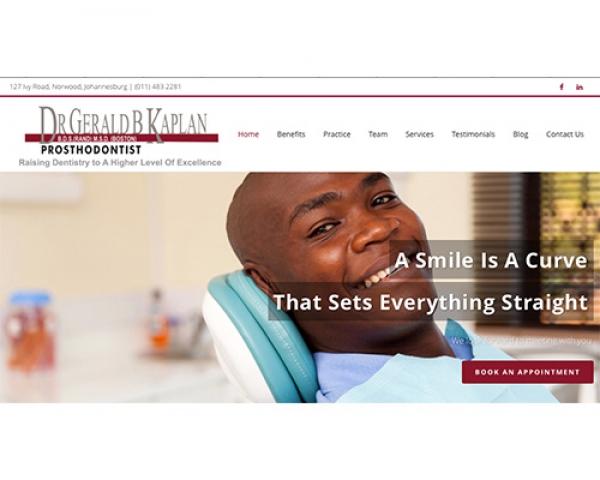 Dr Gerald Kaplan | Prosthodontist